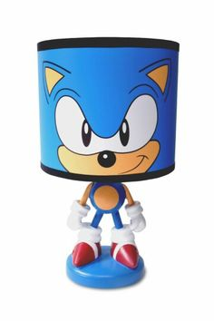 Sonic Bedroom Lamp