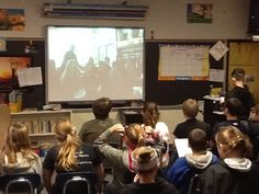 The fifth graders at Kalona Elementary are working on their Iowa History unit. Part of their unit involves making connections with other schools in Iowa.The tools we are using to connect are Skype and Google Hangout, which is a tool similar to Skype.