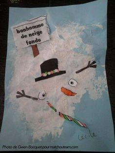 Ma Tchou team: Zut !!! Mon bonhomme de neige a fondu !