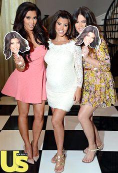 Inside Kourtney Kardashian's Baby Shower. We love the Kourtney fans!