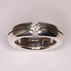 Unisex Canadian Diamond Tension Ring  Size 6.5 by DanielSommerfeld, $1093.61