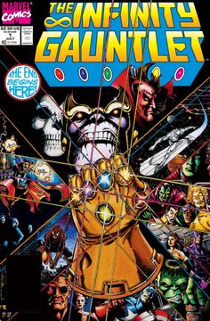 The Infinity Gauntlet/i have this one I highly recommend it for any marvel fan