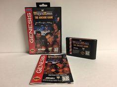 WWF WrestleMania: The Arcade Game (Sega Genesis, 1995) Complete MINT  | eBay