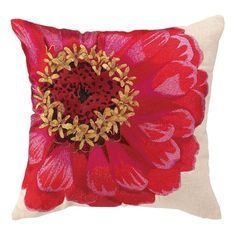 I pinned this Zinnia Pillow from the Painter's Palette event at Joss and Main!