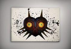 Majora's Mask, The Legend of Zelda Game Print, The Legend of Zelda Room Decor, Legend of Zelda Print, Zelda Watercolor,Legend of ZeldaArt by Zapalkowo on Etsy https://www.etsy.com/ca/listing/484357091/majoras-mask-the-legend-of-zelda-game