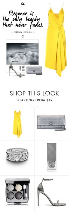"""""""summer"""" by anabelisstyle ❤ liked on Polyvore featuring Victoria Beckham, Alexander McQueen, Burberry, Chanel and Yves Saint Laurent"""