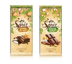 Spria Chocolate on Packaging of the World - Creative Package Design Gallery