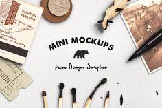 Mini Mockups by Design Surplus on @creativemarket