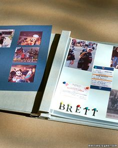 Summer Memories Scrapbook - When you're young, summer seems  to fly by so fast that it becomes a blur. A nice way for you and your kids to capture those special summer memories is by making a scrapbook featuring souvenirs and photos from the season.