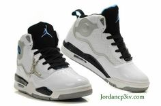 Jordan TC Mens White Black Blue Shoes Basketball Shoes