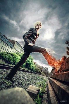 Sanji (One Piece) by Suki Cosplay https://www.facebook.com/CosplaySuki