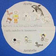 Little Miss Glamour Goes To Kindergarten: Arctic & Antarctic animals