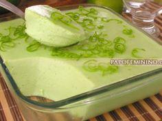 Mousse de Limão Verde