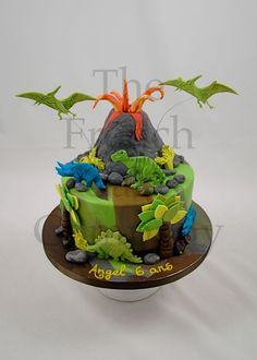 Cake for boys - Gateau D'anniversaire Pour Enfants - Garcon - Verjaardagstaart