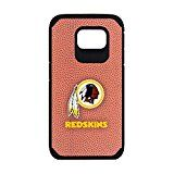 NFL Washington Redskins Classic Football Pebble Grain Feel Samsung Galaxy S6 Case Brown