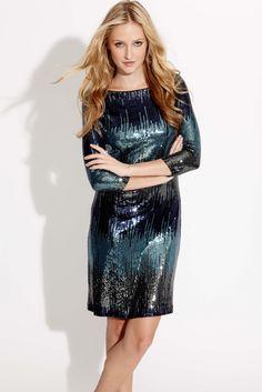 sequin party dress