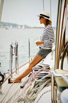 Stripes: French Fall to a Nautical Summer!
