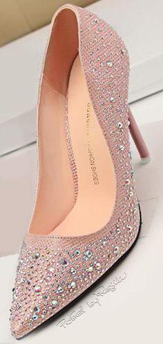 Regilla ⚜ Rhinestone Shoes