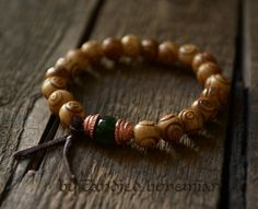 Yoga Bracelet- Purity, Strength & Courage - Mala Bracelet, Yoga Jewelry, Tibetan Jewelry, Men's Bracelet, Yoga Bracelet, Tibetan Bracelet, Mens Jewelry, Mens Bracelets by CandiedBohemian, $31.00