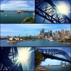 Walking the #sydneyharbourbridge  by mim_etch http://ift.tt/1NRMbNv