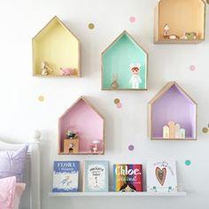 pastel shelves..