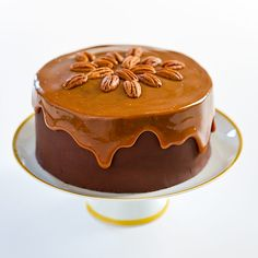 Chocolate Turtle Cake Recipe - Cook's Country