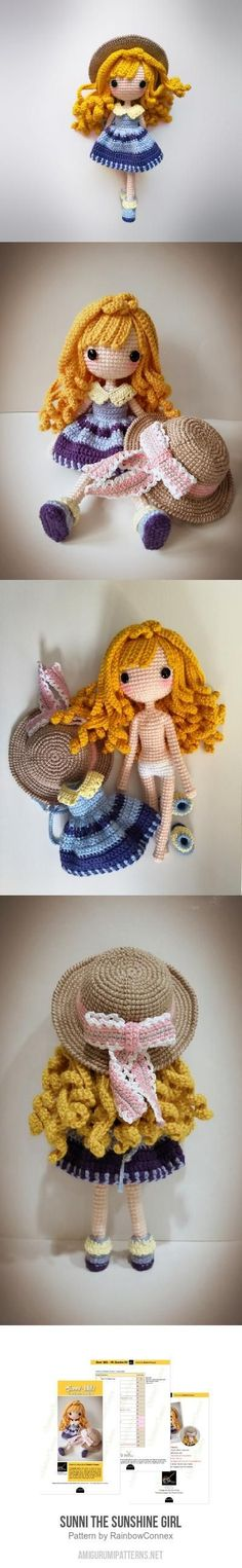 Sunni The Sunshine Girl Amigurumi Pattern