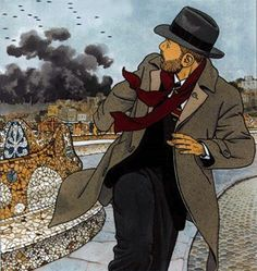 Giardino Pax Romana, Bilal, Morris, Comic Page, Panel Art, Fun Comics, Cartoon Drawings, Golden Age, Illustrators