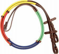 Pony Rainbow Rubber Reins $22.99