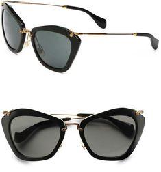 Mui Mui Cat Eye Acetate Sunglasses Sunnies, Miumiu Sunglasses, Michael Kors  Sunglasses, Ray 1b8b9d109d6e