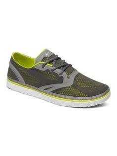 quiksilver, AG47 Amphibian Shoes, Grey/Grey/Green (xssg)
