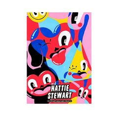 Hattie Stewart Pull Out Poster Book: 32 removable art prints by acclaimed illustrator Hattie Stewart. London-based Hattie Stewart is a self-styled 'professional doodler', who has worked extensively with publications and brands worldwide including Urban Outfitters and Marc Jacobs, and has exhibited in the UK, USA and Germany.  Her striking, colourful creations are rich with humour, dark touches and deceptive complexity.