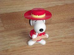 Vintage McDonalds Figure, Vintage Snoopy Figure (1990's) - VERY RARE by BeautifulVintageBits on Etsy