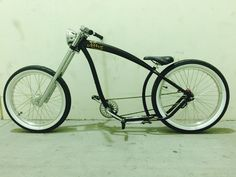 Chopped Triple Tree Fork Lowered Chopper Felt 24 wheels Massive Headlight