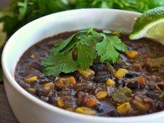 Mexican Black Bean Corn Soup