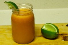Our community member, Brian A. from Cumming, Georgia submitted this delicious Carrot Limeade Juice. He came up with this recipe during his 60 Day Reboot. Thanks Brian! Do you have a healthy recipe to share? Submit it here!