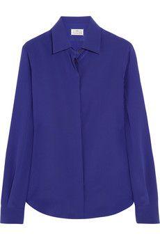 Maison Martin Margiela Silk shirt | NET-A-PORTER