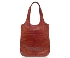 "Crocodile Handbag ""Ragusa"" www.atelierdoutremer.com Crocodile Handbags, Collection, Fashion, Totes, Moda, Fashion Styles, Fashion Illustrations"