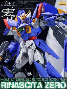 MG 1/100 Wing Gundam Rinascita Zero - Custom Build
