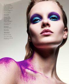 Glam Rock Beauty Editorials : Rocker Makeup