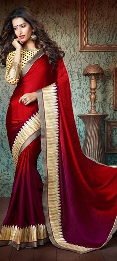 #Silksaree #saree #red