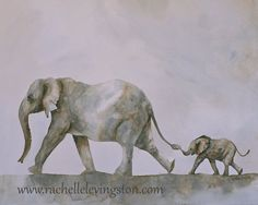Hey, I found this really awesome Etsy listing at http://www.etsy.com/listing/165426606/watercolor-painting-elephant-painting