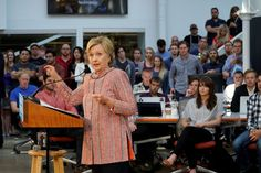 Hillary Clinton's campaign advisers sought to explain the student debt deferment portion of her tech agenda on a call with reporters today, after the item..