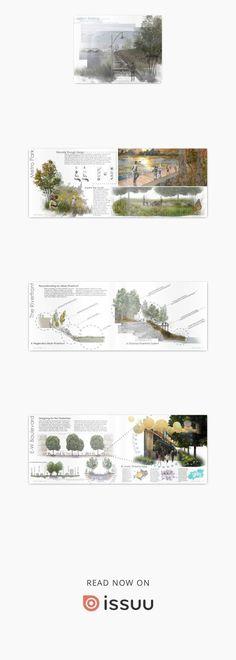 Landscape Architecture Portfolio  Undergraduate Portfolio. Landscape Architecture. University of Massachusetts. #architectureportfolio
