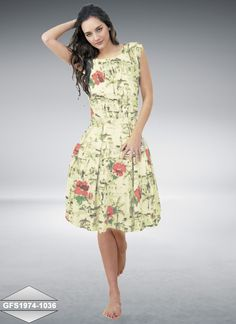 941401b90ca1 Designer White Colour Semi Stitched Georgette Western Wear By Shreeji  Fashion Kurtas and Kurtis For Women