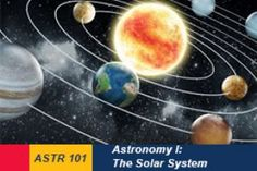 Online introductory Astronomy course this summer @Queensu. ASTR 101, Astronomy I: The Solar System