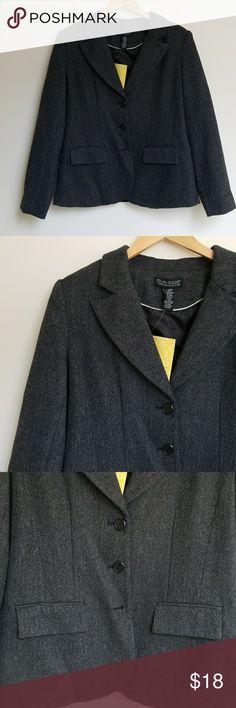 NWT Blazer QVC line Dialogue Blazer NWT Size Large Jackets & Coats Blazers