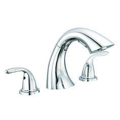 Glacier Bay Builders 2-Handle Non-Deckplate Roman Tub Bath Faucet Sprayer 477427 in Faucets | eBay