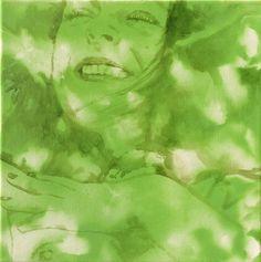 Alkyd, acrylic on canvas#30x30#rithva