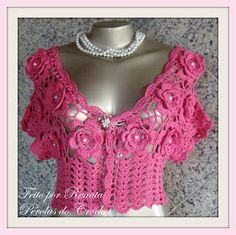 * Pérolas do Crochet: Bolero Katita
